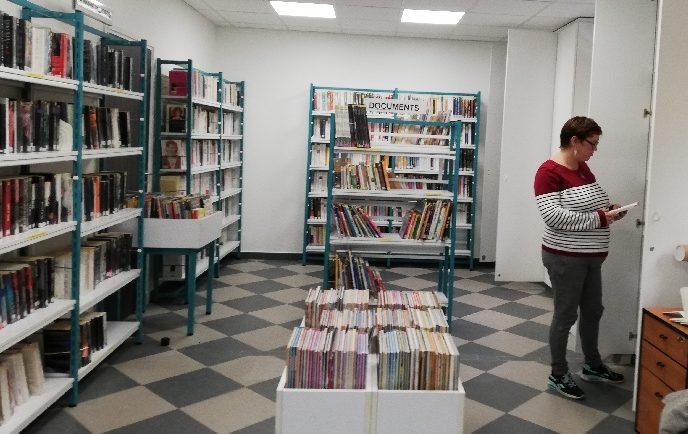 Bibliothèque : fermeture exceptionnelle
