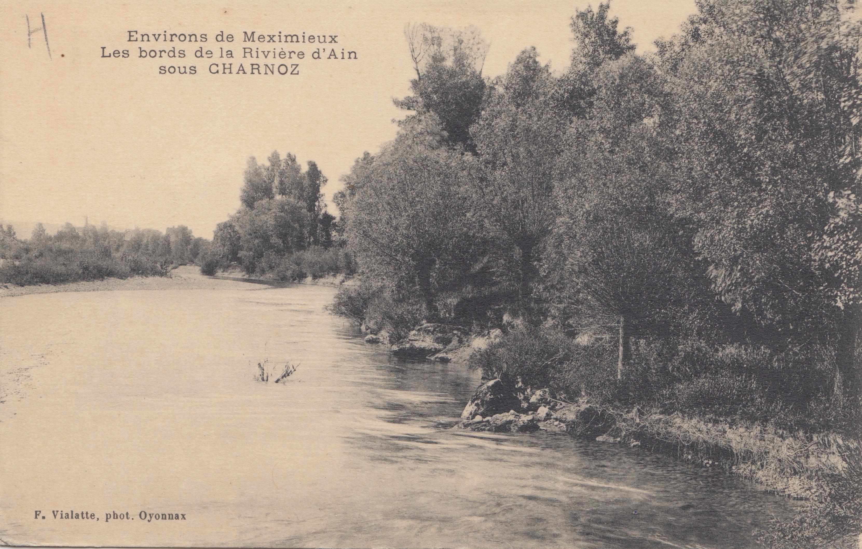 La rivière 1916