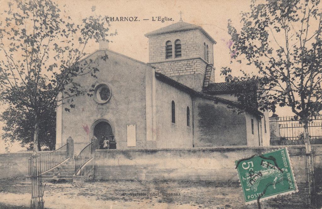 L'église 1908