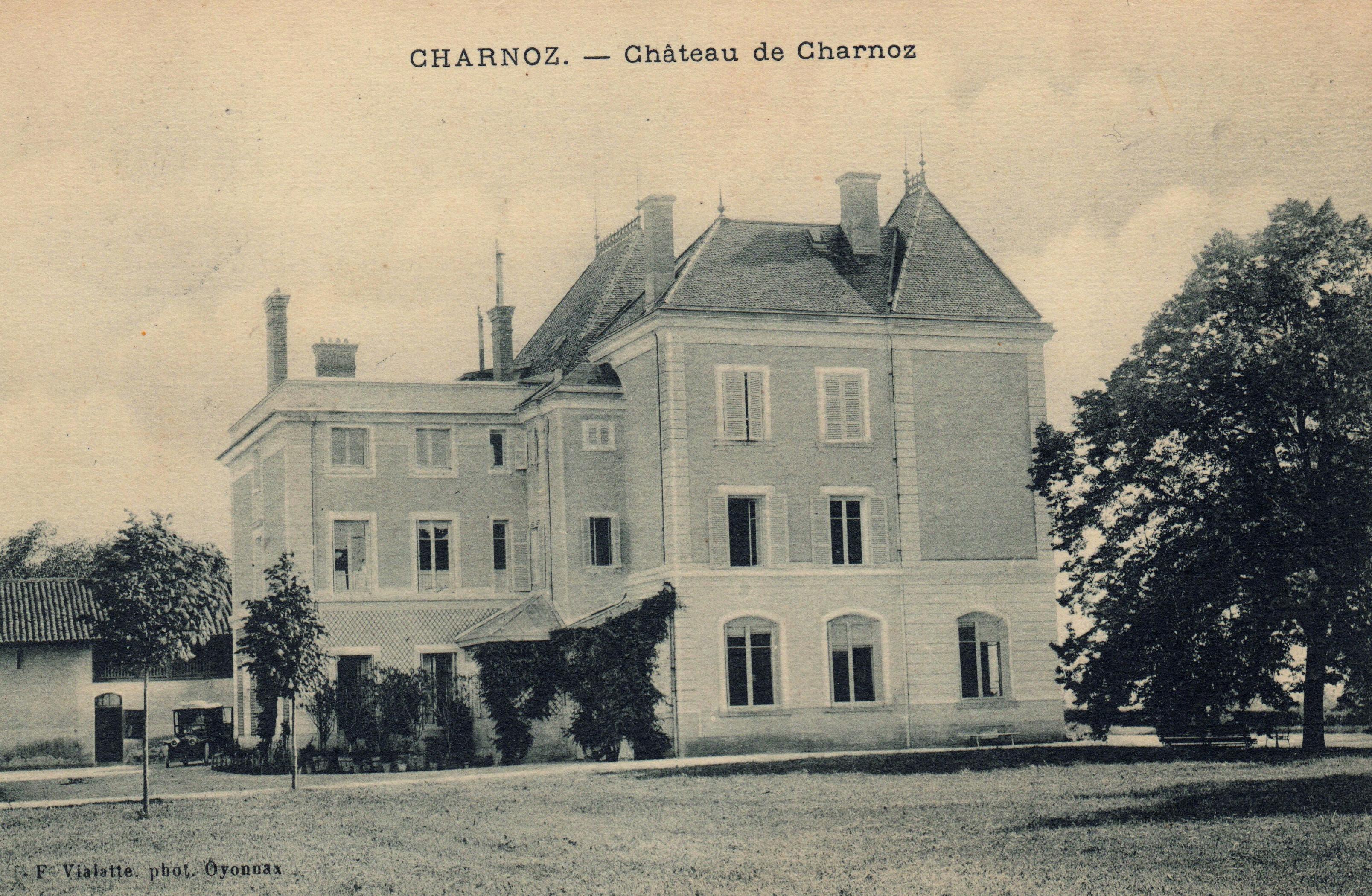 Le château 1911