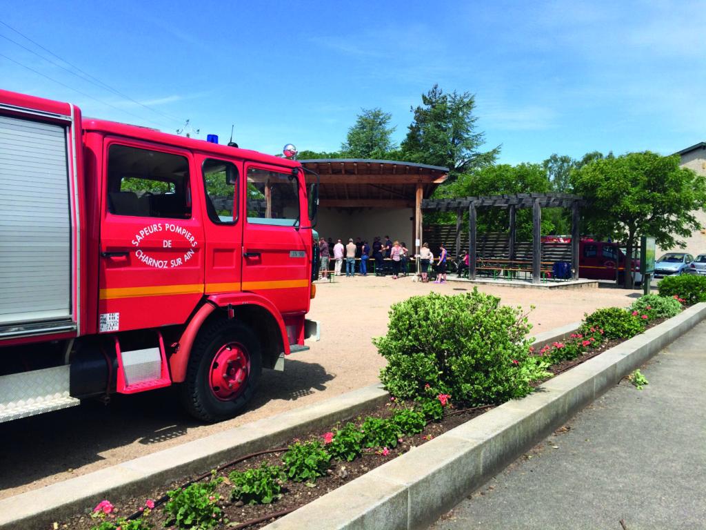 Pompiers - Vente de tartes