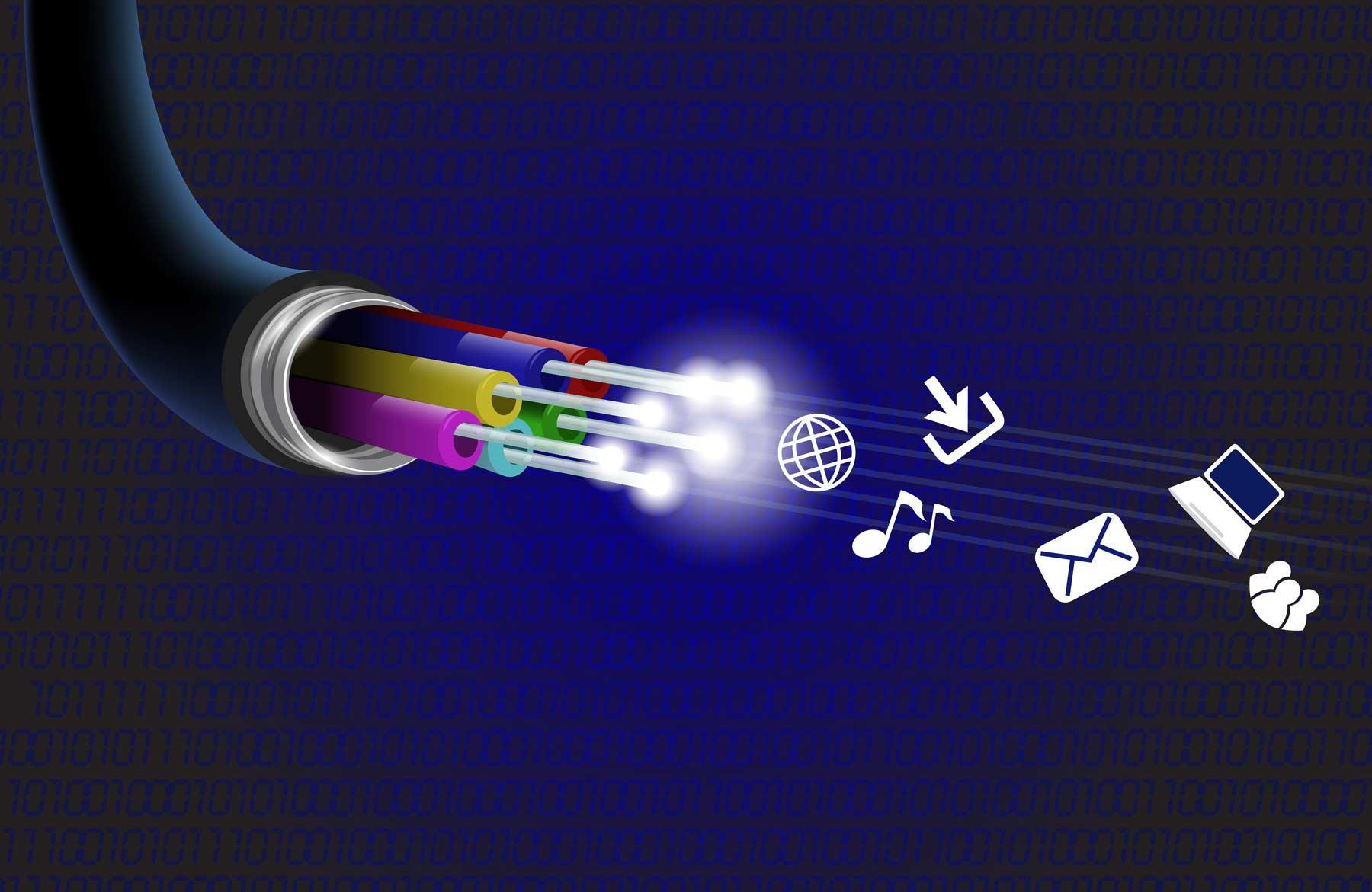 La fibre optique en chiffres