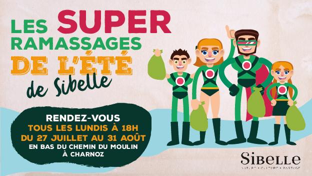 LES SUPER RAMASSAGES DE L'ÉTÉ DE SIBELLE