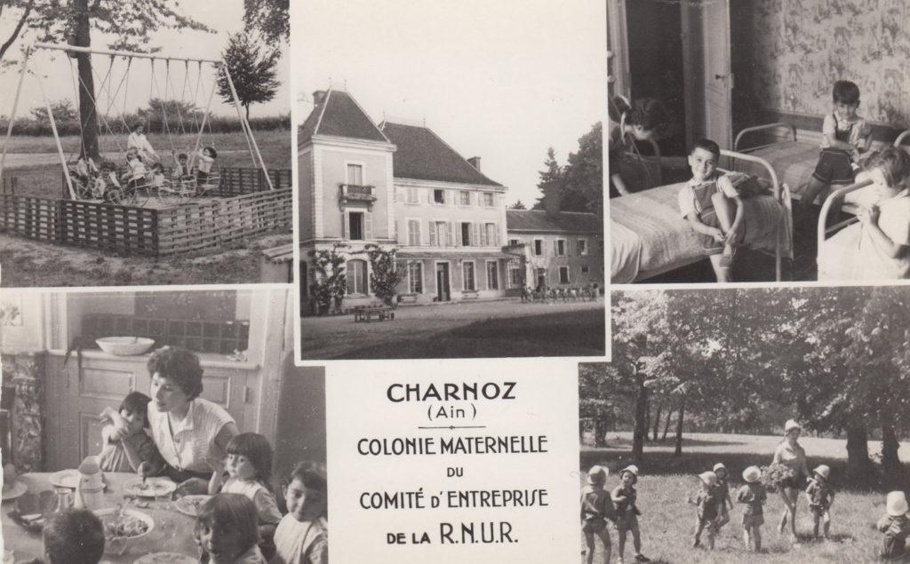 Le château + colonie