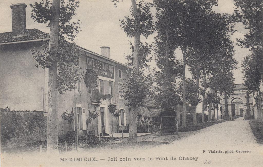 Le Pont de Chazey