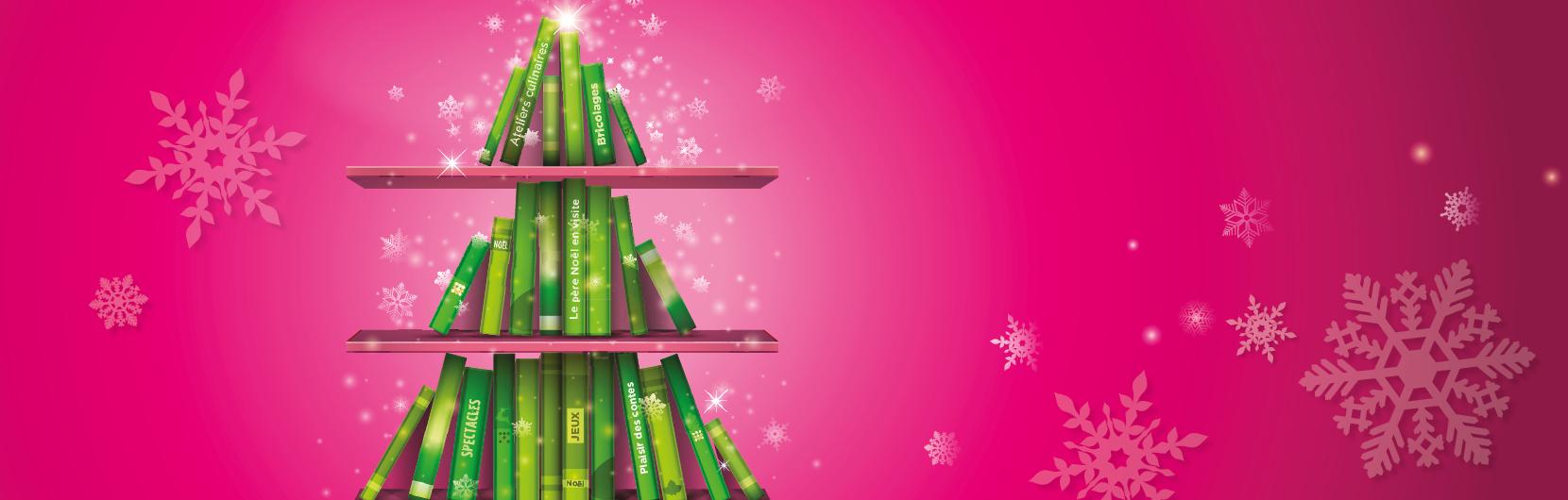 Bibliothèque : congés de Noël