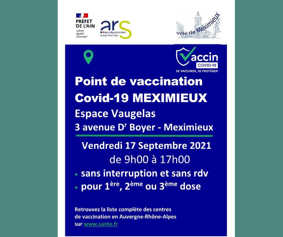 Journée vaccination COVID